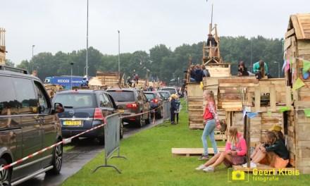 Laatste dag Huttendorp Staphorst met spectaculaire drive through bezichtiging