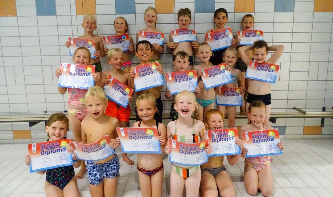 Feestje in zwembad Staphorst