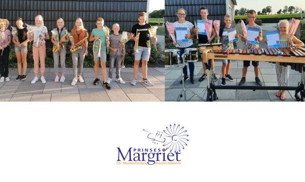 14 geslaagden bij Prinses Margriet!