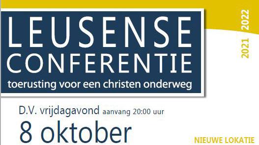 Leusense Conferentie – Welkom!