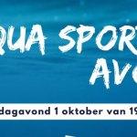 Aqua sportief avond in zwembad Staphorst