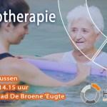Hydrotherapie in zwembad de Broene Eugte