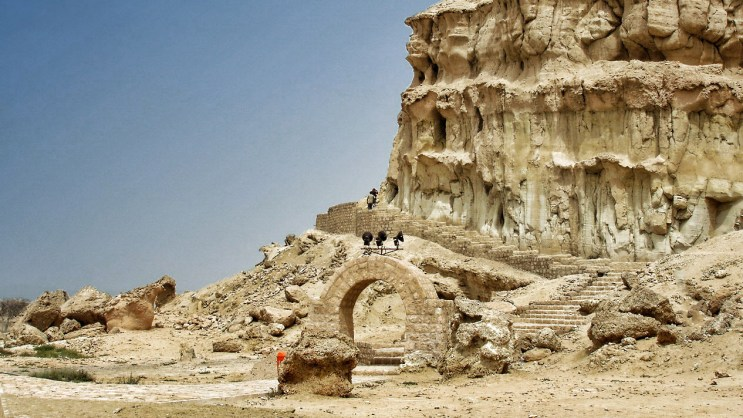 Kharbas caves in Qeshm Island