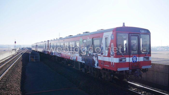 ガルパン列車鹿島臨海鉄道大洗鹿島線