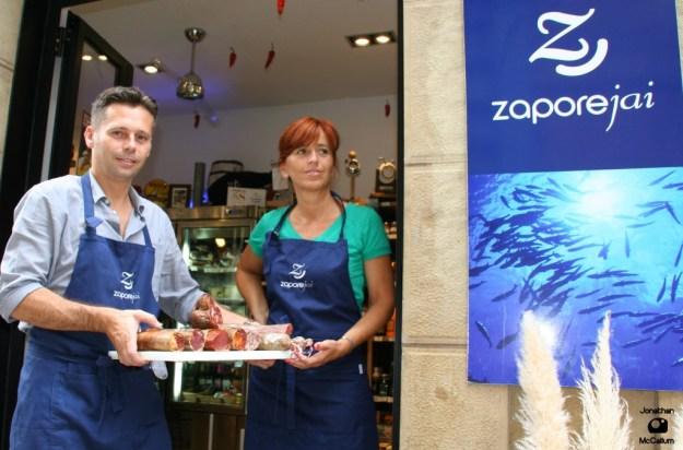 Aurkene & Sylvain of Zapore Jai