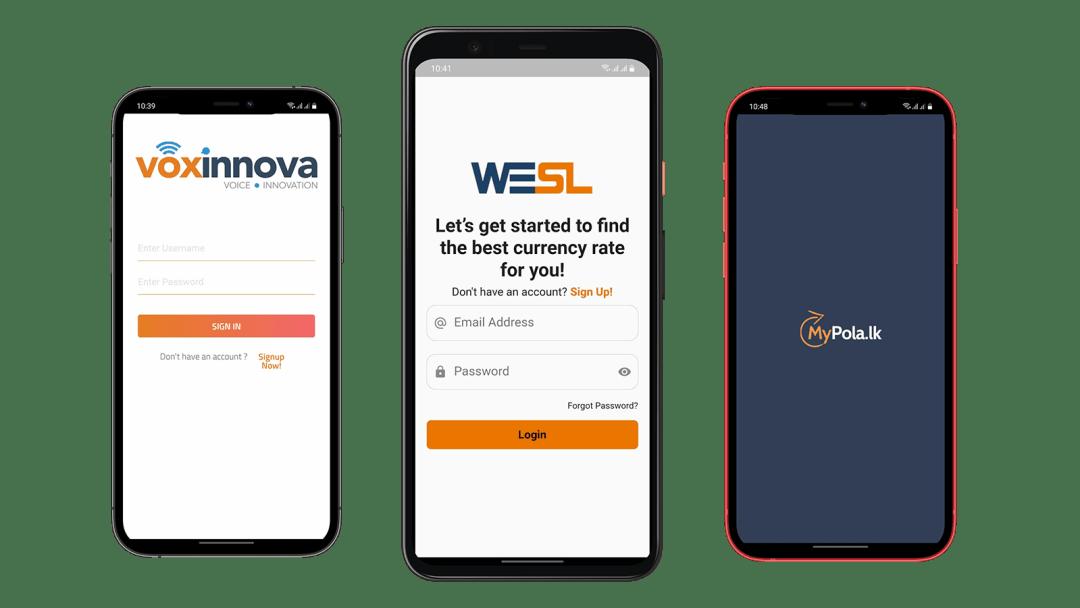 weblook mobile app development