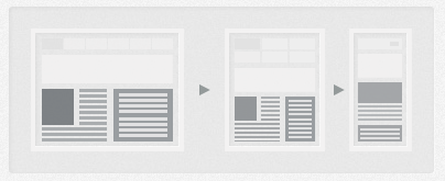Responsive Two Columns Webdesign