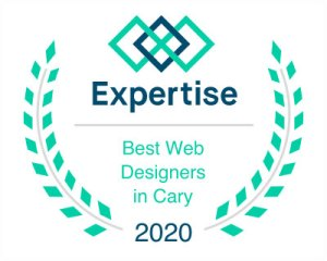Expertise - best web designers in cary 2020 award
