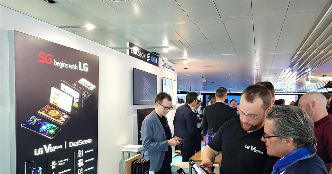 Το LG V50ThinQ 5G διαθέσιμο στην Ευρώπη αρχικά μέσω της ελβετικής Swisscom