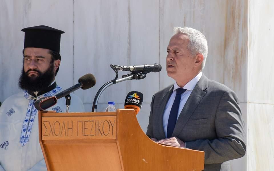 Ευ. Αποστολάκης: Οι Ενοπλες Δυνάμεις αποτελούν εγγύηση για την προάσπιση της εδαφικής μας ακεραιότητας | ΠΟΛΙΤΙΚΗ