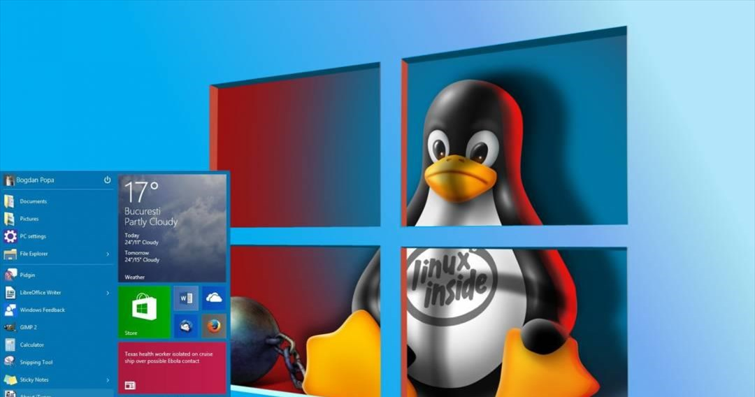 O κόσμος του Linux έρχεται λίγο πιο κοντά στα Windows