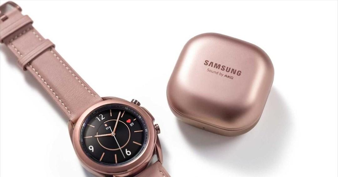 Διαθέσιμα τα νέα Galaxy Watch3 και Galaxy Buds Live της Samsung