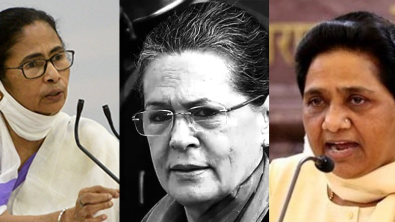 Mamata backs Modi Govt on India-China faceoff, Sonia blames Govt. kept us in dark and Mayawati says this is not the time for politics