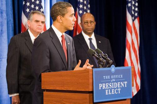 Foto do Flickr do gabinete de transição de Barack Obama