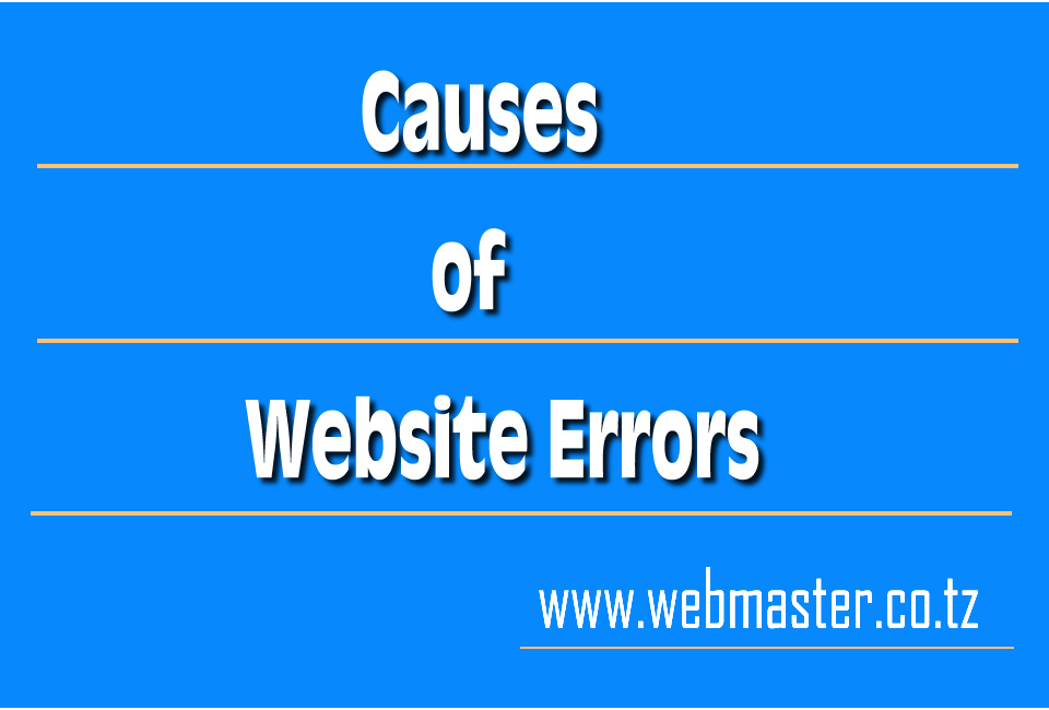 Causes of Website Crashes