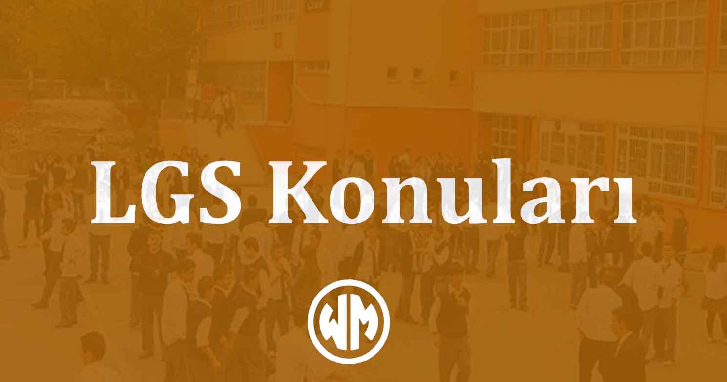 LGS konulari