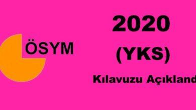 Photo of 2020 Yükseköğretim Kurumları Sınavı (YKS) Kılavuzu Açıklandı.