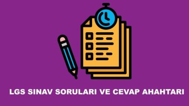 Photo of 2020 LGS Sınav Kitapçığı ve Cevap Anahtarı