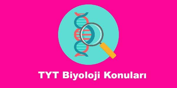 TYT Biyoloji Konuları ve Soru Dağılımları – YKS