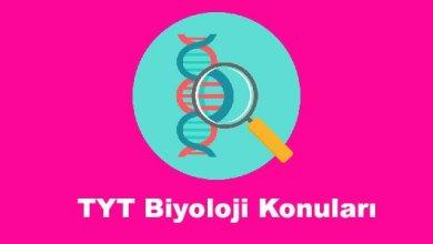 Photo of TYT Biyoloji Konuları ve Soru Dağılımları – YKS