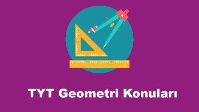 TYT Geometri Konulari