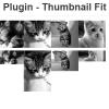 バラバラのサイズの画像を均一にして並べるjquery