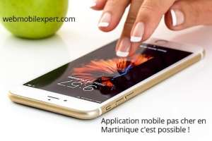 application mobile pas cher martinique