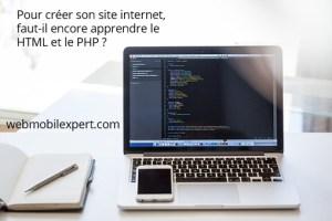 apprendre le HTML et le PHP indispensable pour créer son site internet