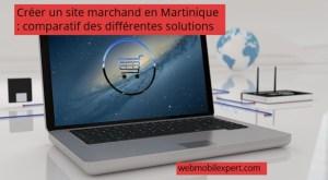 créer site marchand en Martinique différentes solutions