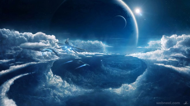 30 Futuristic Sci Fi Characters And Backgrounds For Your