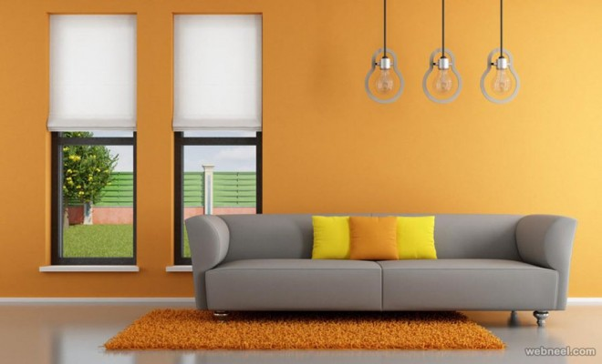Wall And Amazing Interior Paint Ideas For Small Living Rooms Get Inspired To Makeover Simple Gold Sofa