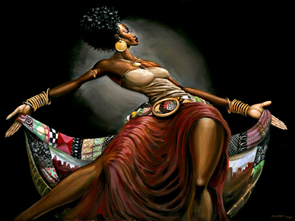 Image result for paintings of black women