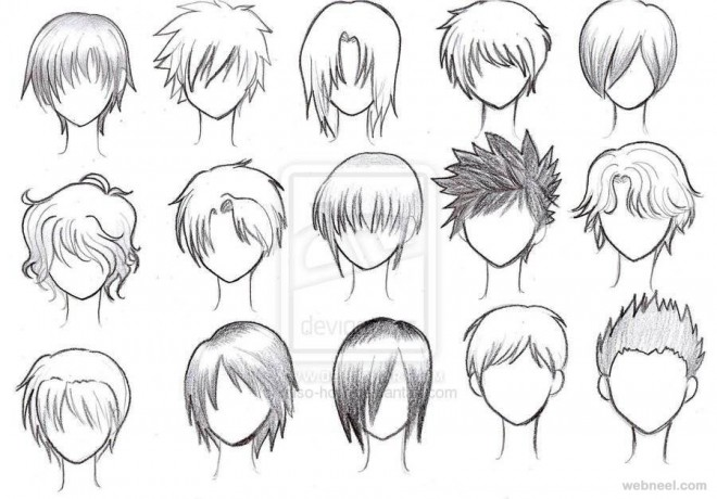 How To Draw Anime Boy Hair Step By Step For Beginners Hd Wallpaper Gallery
