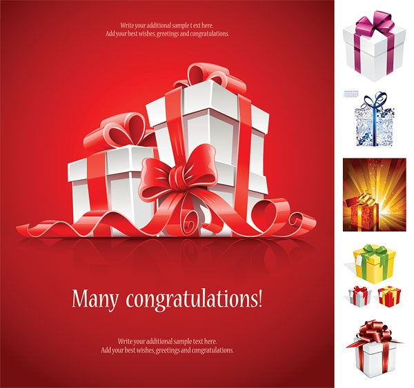 60 Free Christmas Vector Design Resource For Greeting
