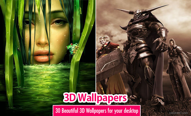 30 Most Beautiful 3D Wallpapers for your Desktop Mobile and Tablet   HD 3D Wallpaper