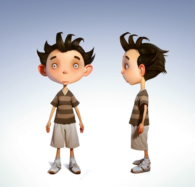 3D Character Design (1)