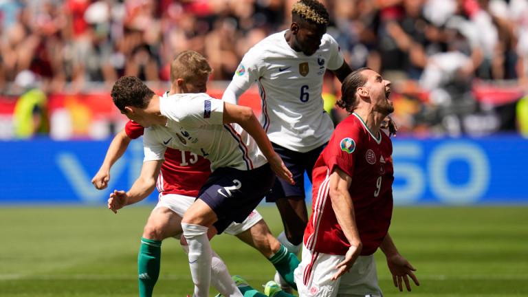 Унгария 0-0 Франция, пропуска Мбапе и Бензема