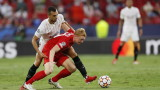 Севиля 1-1 Залцбург в мача от Шампионската лига