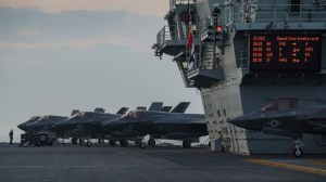 Великобритания има постоянни военни кораби в азиатските води