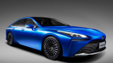 Exciting and eco-friendly: Toyota has unveiled its new hydrogen sedan