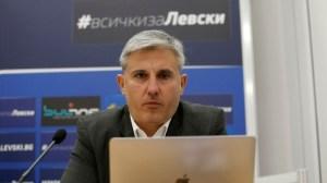 Павел Колев: Най-лошото свърши, Левски има добро бъдеще