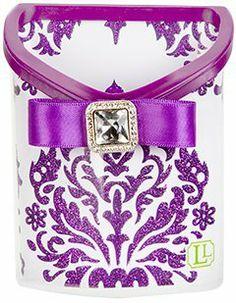 Purple Locker Pencil Cup Bin