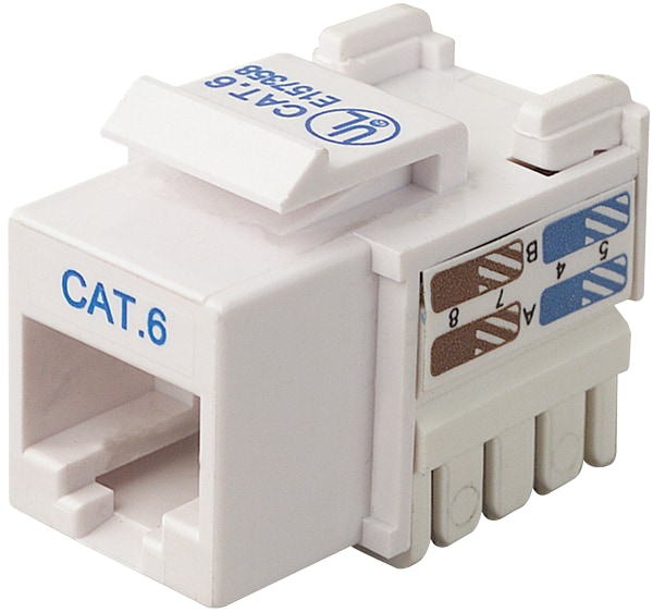 Belkin Certified CAT6 Keystone Jack