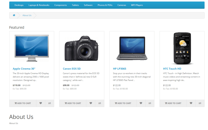front-featured-module-opencart