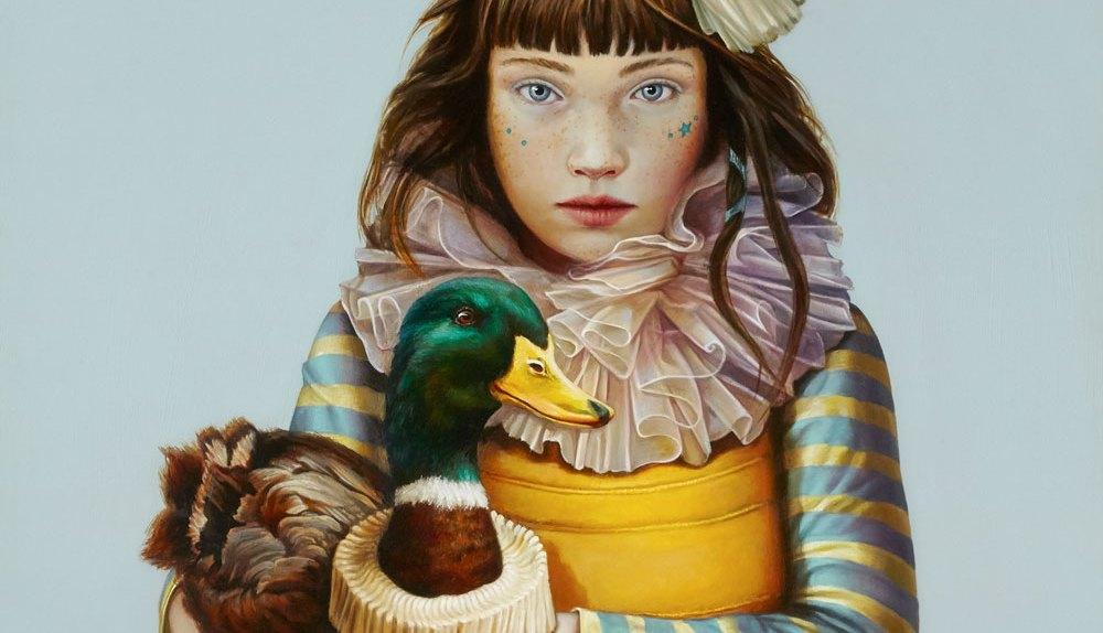 CLAUDIA GIRAUDO, Viaggio iniziatico, 2018, olio su tela, 70 x 60 cm