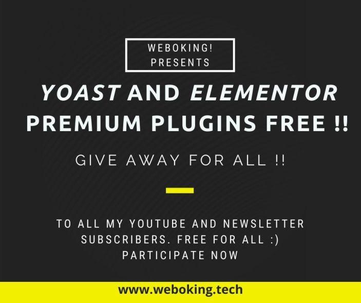 yoast SEO plugin for Free