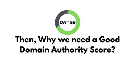 Why we need a good Domain authority score