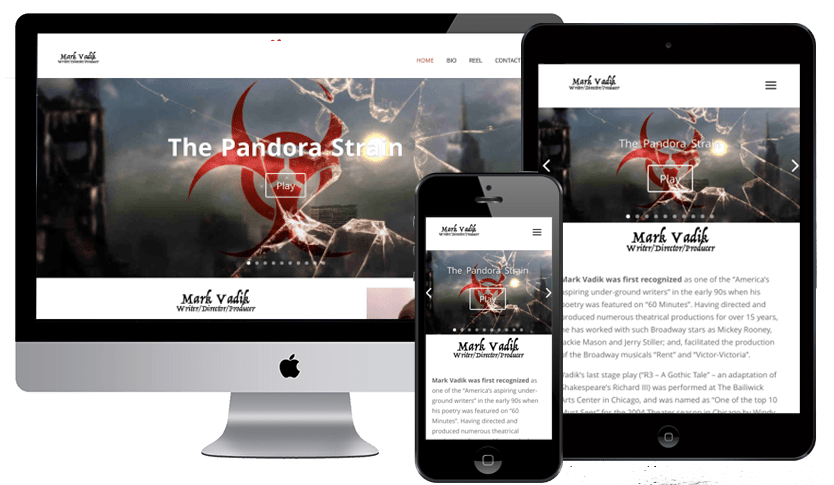 Personal Website of Acclaimed Director Mark Vadik