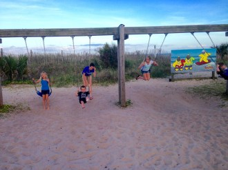 Swing time with the cousins