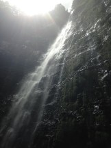 Falls and sunlight